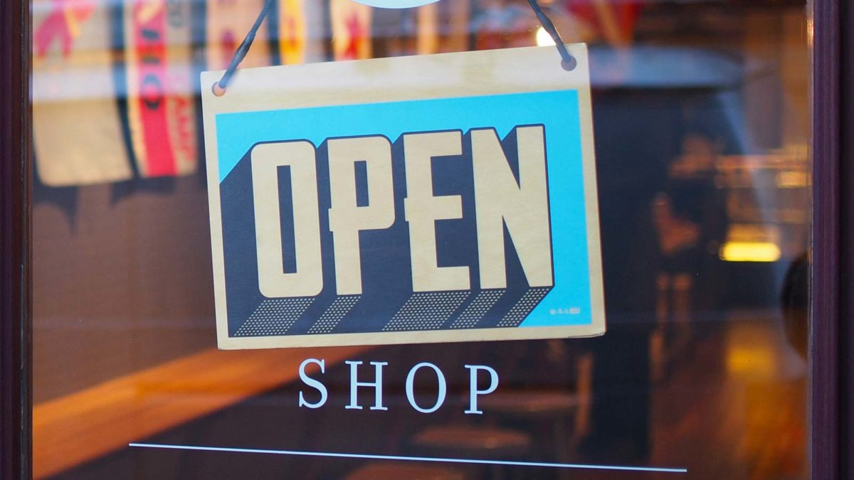 Offline Marketing Solutions include store signage