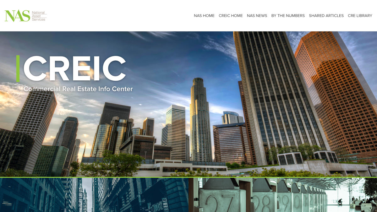 National Asset Services website designed by Oh Wow Marketing Solutions