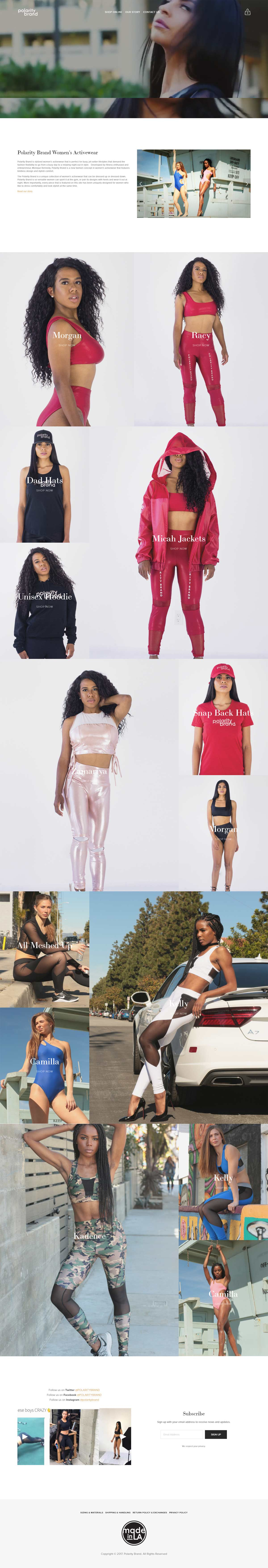 Polarity Brand Women's Activewear